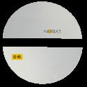 Miodarka 4-kasetowa Dadant / Dadant 1/2 (H:145mm) ręczna Ø600mm – OPTIMA LINE