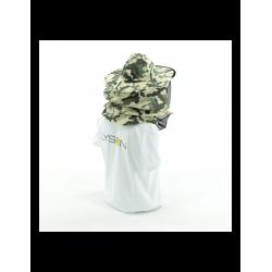 Forma silikonowa Walec duży z choinkami – wys. 13cm